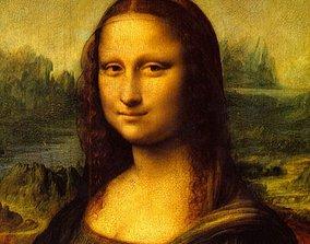 3D model Mona Lisa puzzle