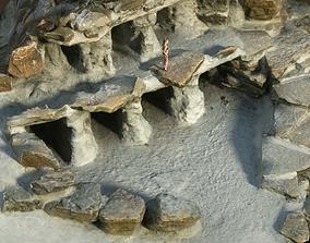 3D model Rock nests Photogrammetry Scene