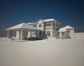 3D Luxury Home bahama style