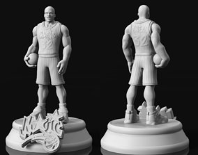 Shaquille o neal STL for 3D Print