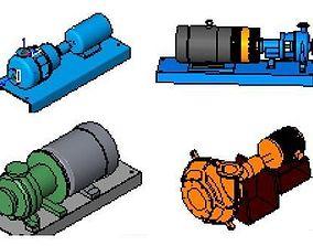 Pump centrifugal 3D