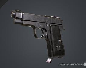 Beretta Pistol 1934 3D model