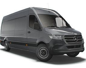 Mercedes Benz Sprinter L3H2 RWD UK-spec 2020 3D model