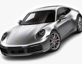 Porsche 911 992 Coupe 2019 3D model