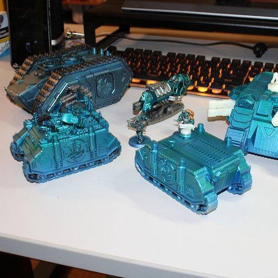 Alpha legion custom 3dprinted  set 1