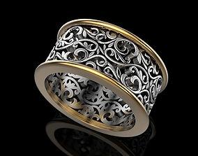 Wedding Ring 3D print model printable