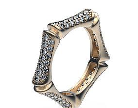 3D print model Ring Bamboo Stem