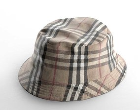 Burberry Fisherman Hat 3D model
