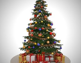 3D model Christmas tree toy