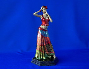 performance 3D print model Dancer