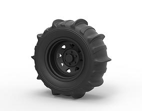 Diecast Wheel for sand 3D print model