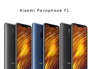 Xiaomi Pocophone F1 3D printable model