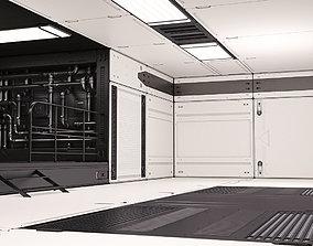 Sci Fi Lab Interior 3D