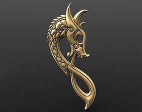 3D print model Viking dragon sign