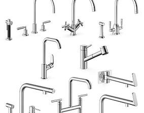 Modern taps spout 3D