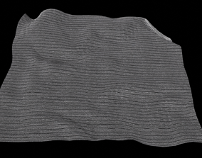 3D low poly Blanket
