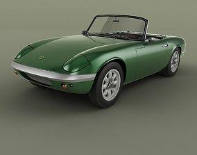 3D model Lotus Elan S2