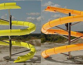 Water Slide 3D models 3d
