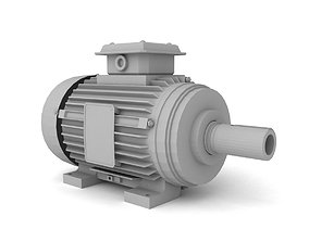 3D electric motor machine