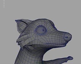 Wild Fox 3D asset