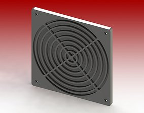 3D print model Electric Frame - Fan Filter