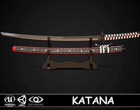 Katana 02 3D asset