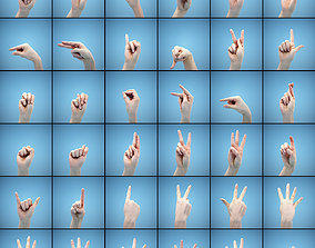 36 Hand Scans 3D model