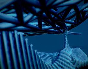 Sting Ray 3D print model