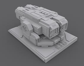 3D Machine Gun Turret