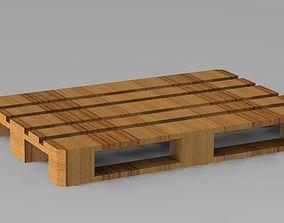 pallet industrial 3D print model