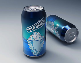 3D model Cold Drink Can
