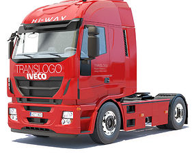 industrial 3D New IVECO Stralis Hi-Way