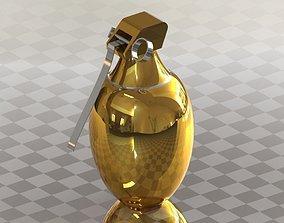 3D model Frag grenade