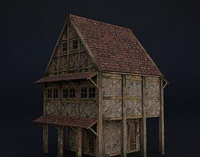OLD MEDIEVAL BUILDING 06 3D model