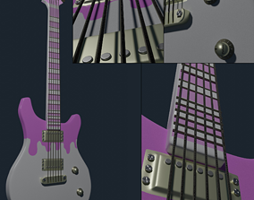 Electric Guitar mostly decorative BigEagle 3D print model
