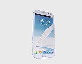 Samsung Note 2 3D model