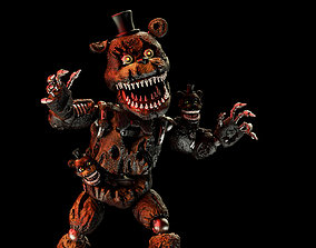 Nightmare Freddy 3D model for printing