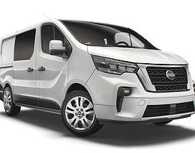 3D model Nissan NV 300 Combi 2021