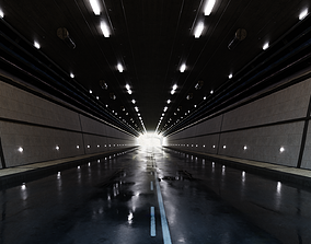 3D asset Realistic Tunnel
