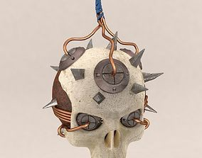 3D Skull Bomb Variant 1
