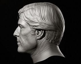 Robert Redford Head Sculpture 3D model