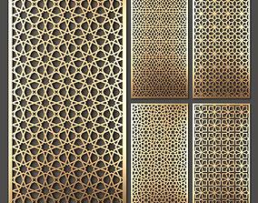 3D model Decorative panel set 44