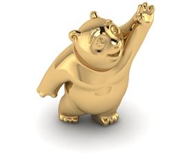 baby bear jewelry 3d