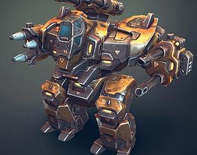 3D asset Mech Constuctor - Heavy Robot