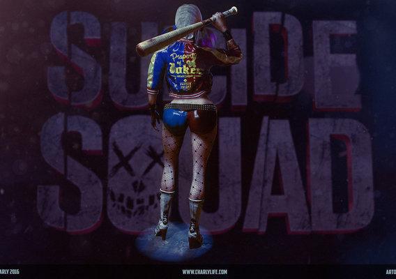 Suicide Squad. Harley Quinn. Fan Art