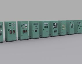 electrical-panels 3D asset