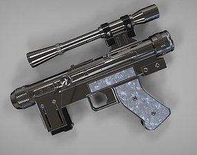 3D print model Lando Calrissian SE14R Blaster