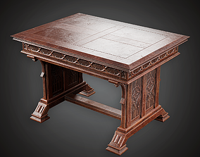 Table - MVL - PBR Game Ready 3D asset game-ready