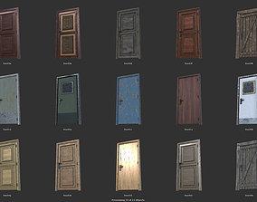 3D asset Door Set