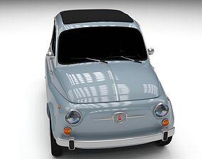 3D model Fiat 500 Nuova 1957